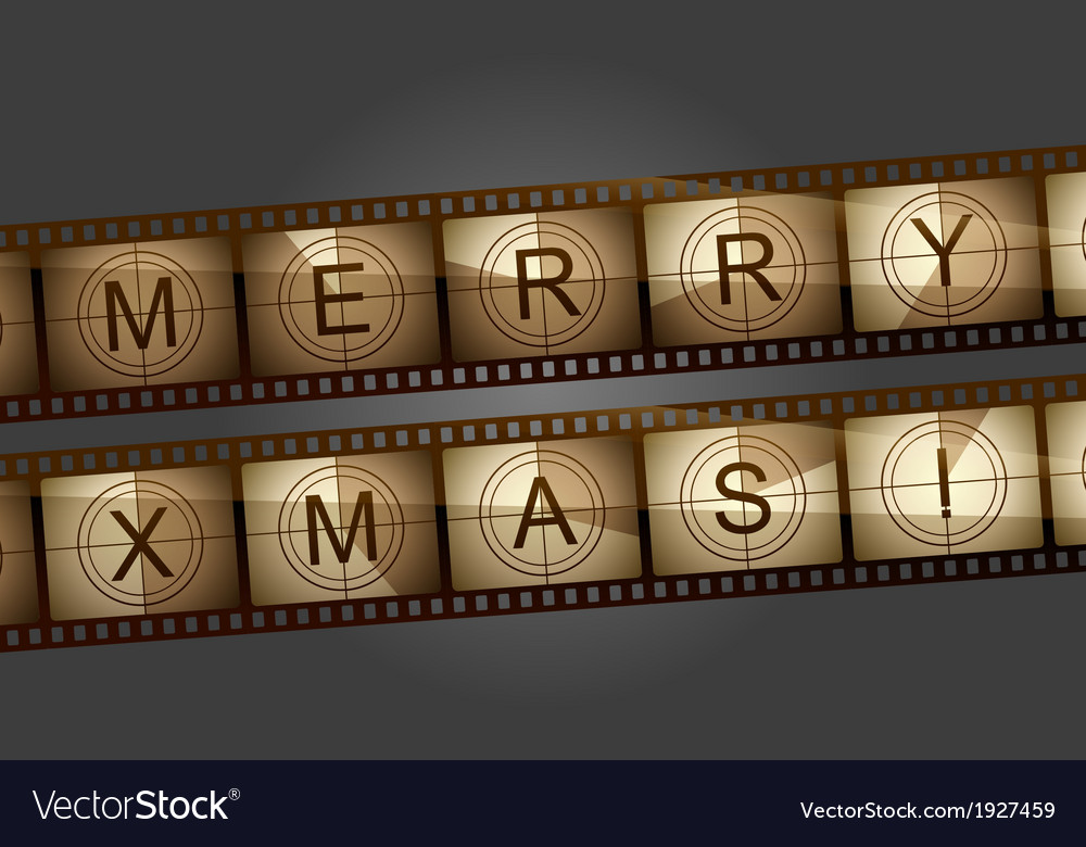 Merry xmas countdown vector | Price: 1 Credit (USD $1)
