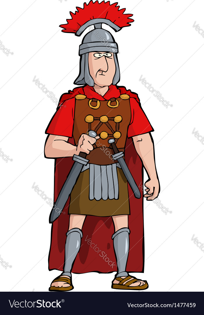 Roman officer vector | Price: 1 Credit (USD $1)