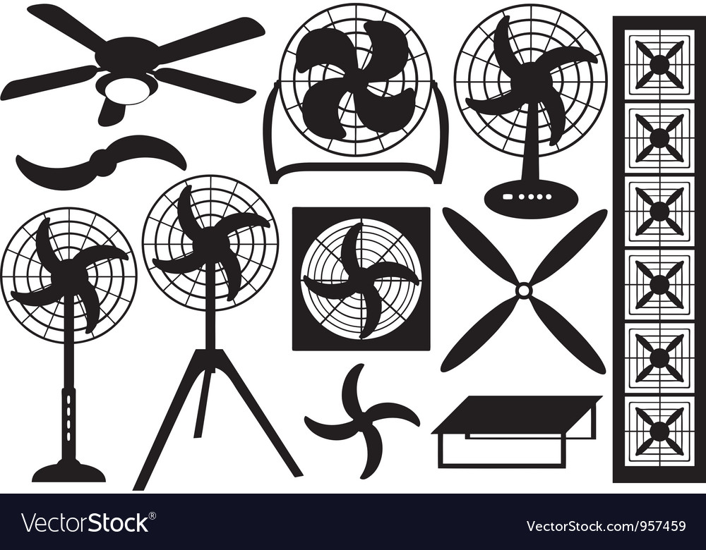 Ventilators vector | Price: 1 Credit (USD $1)
