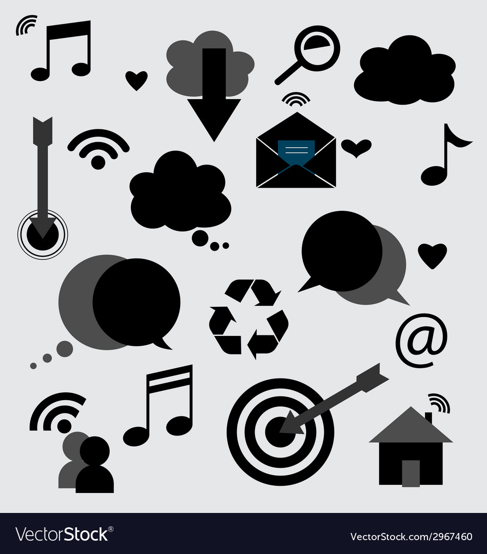 Application icons design vector | Price: 1 Credit (USD $1)
