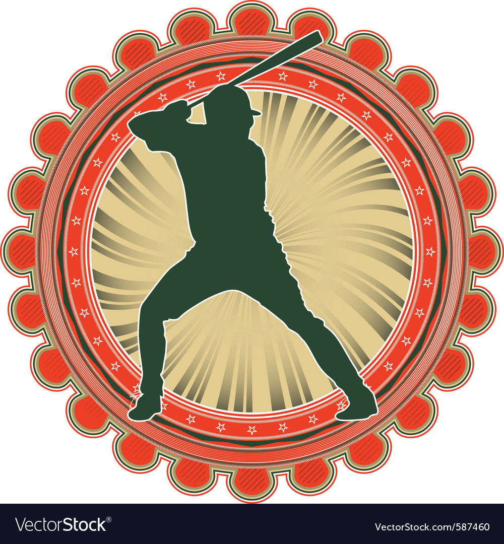 Port emblem baseball vector | Price: 1 Credit (USD $1)