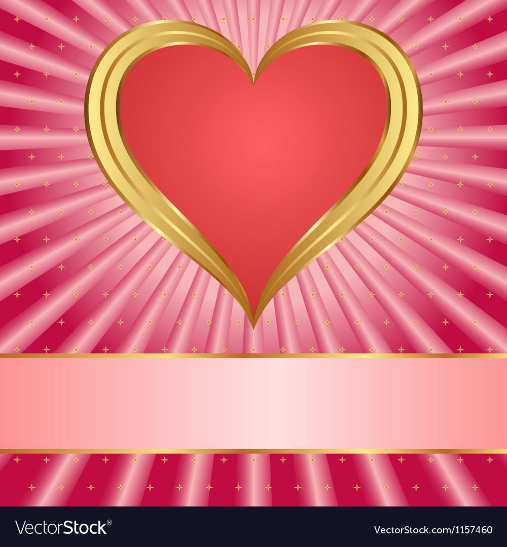 Valentines background vector | Price: 1 Credit (USD $1)