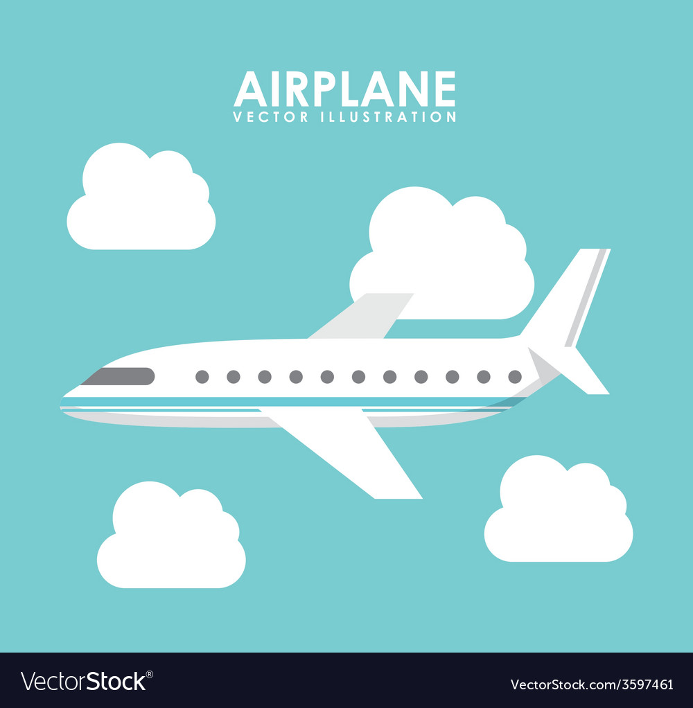 Airplane icon vector | Price: 1 Credit (USD $1)