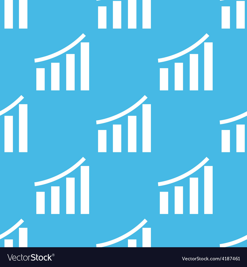 Chart seamless pattern vector | Price: 1 Credit (USD $1)