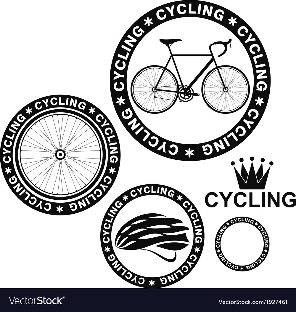 Cycling set vector | Price: 1 Credit (USD $1)