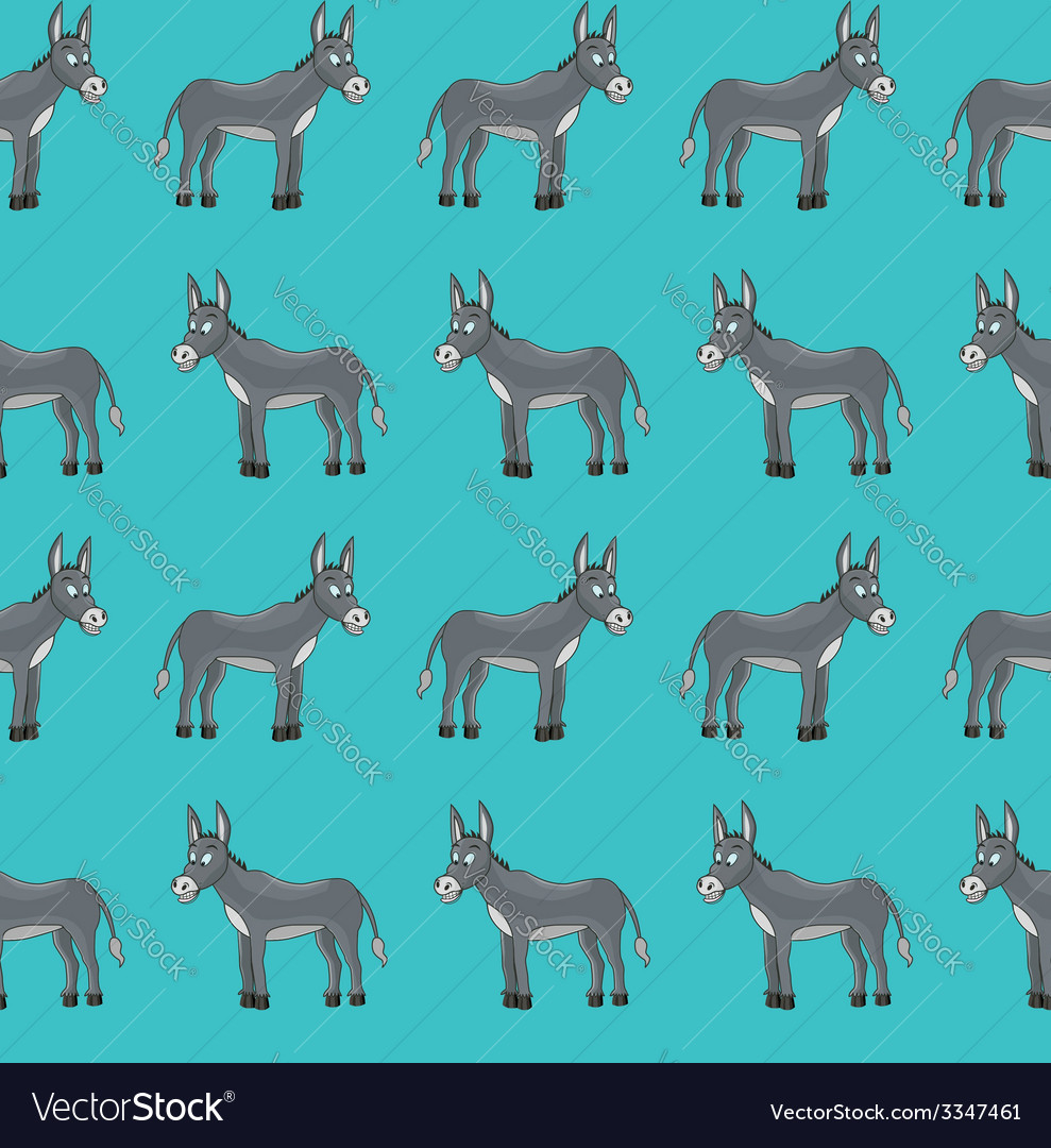 Donkey pattern vector | Price: 1 Credit (USD $1)