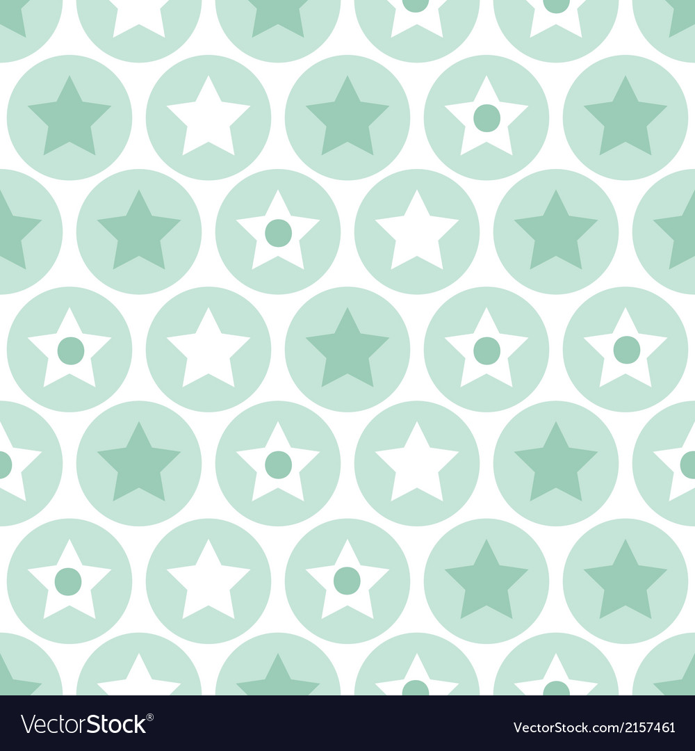 Turquoise seamless pattern on white background vector | Price: 1 Credit (USD $1)