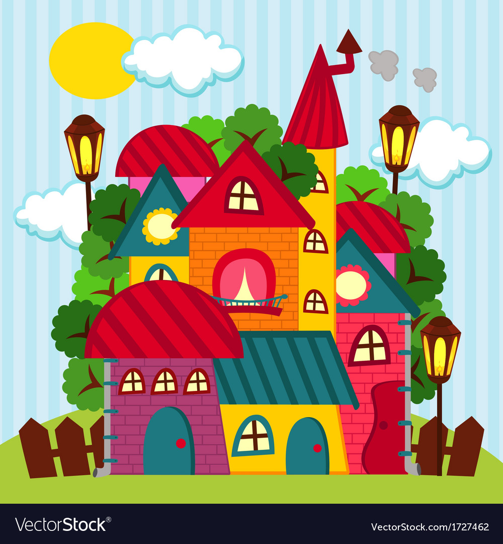 Houses - vector | Price: 1 Credit (USD $1)