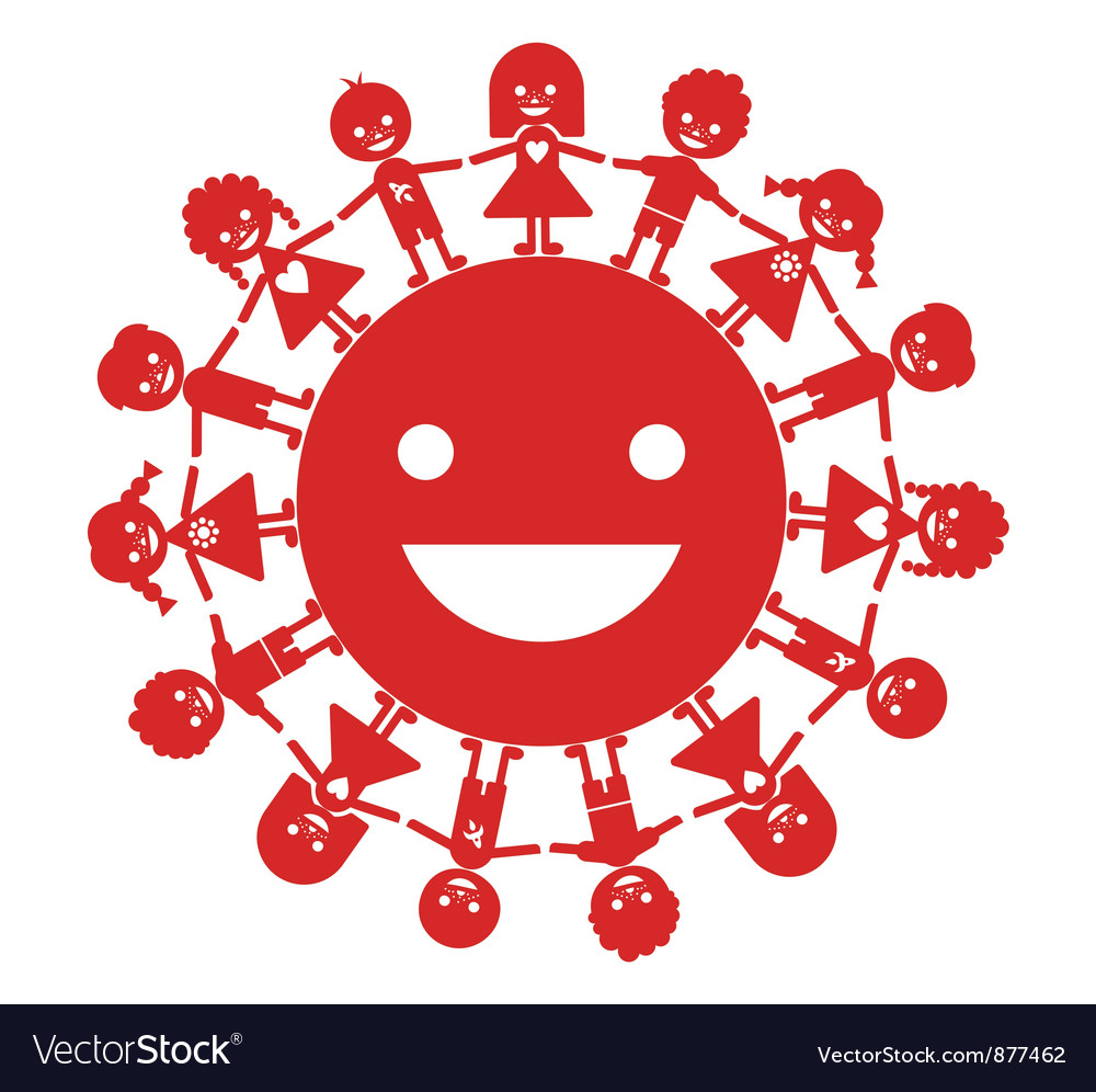Smiling generation vector | Price: 1 Credit (USD $1)
