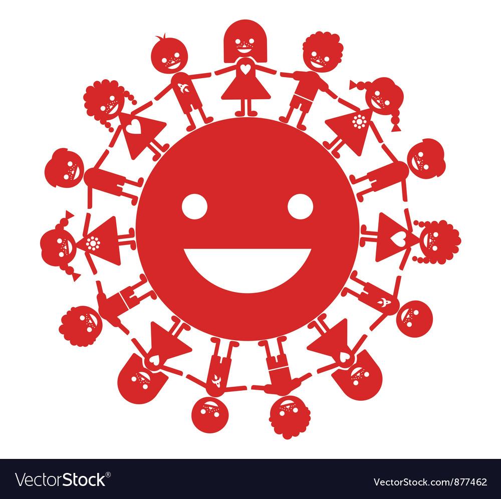 Smiling generation vector | Price: 1 Credit (USD $1)