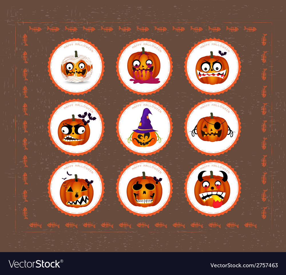 Halloween printables vector | Price: 1 Credit (USD $1)