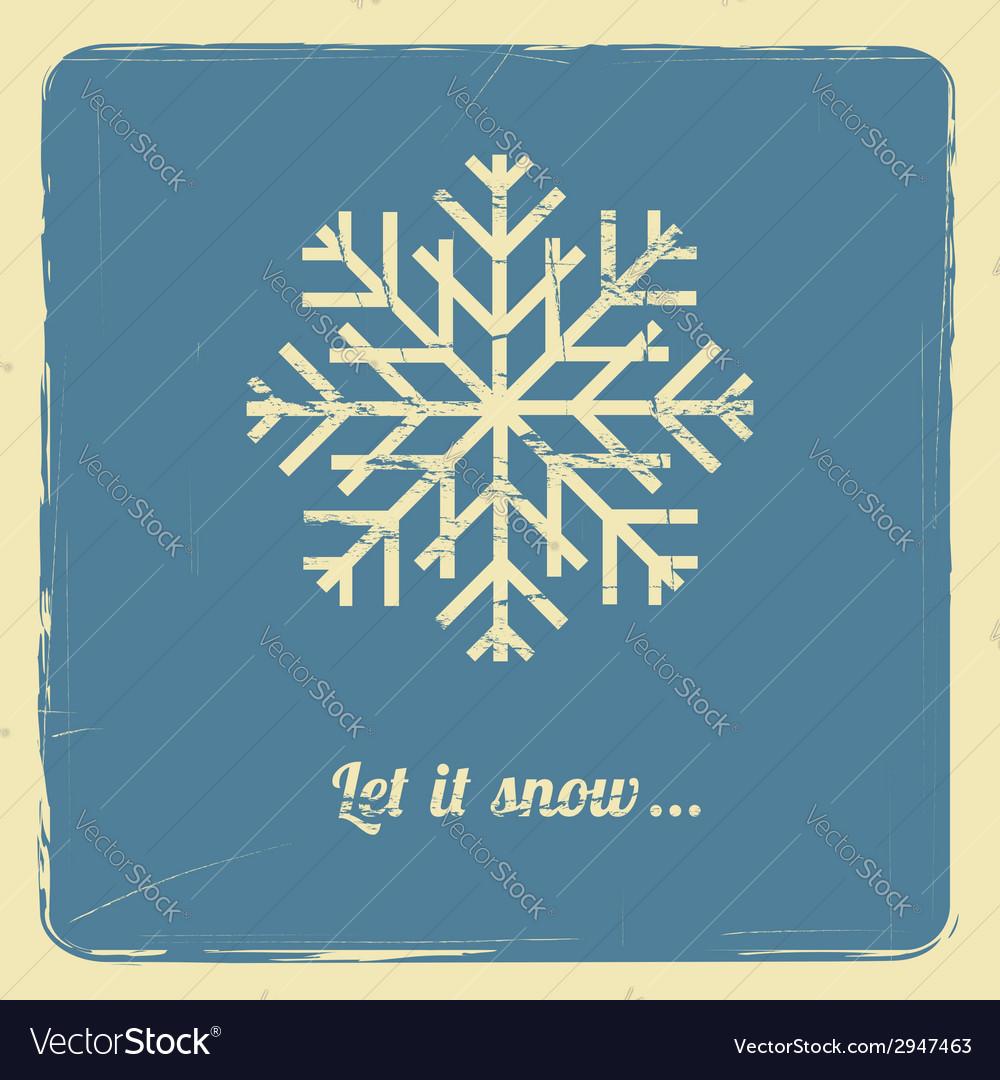 Let it snow vector | Price: 1 Credit (USD $1)