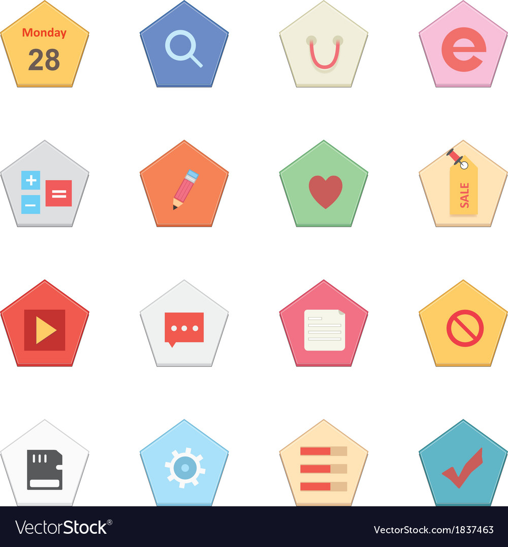 Web icons 27 vector | Price: 1 Credit (USD $1)