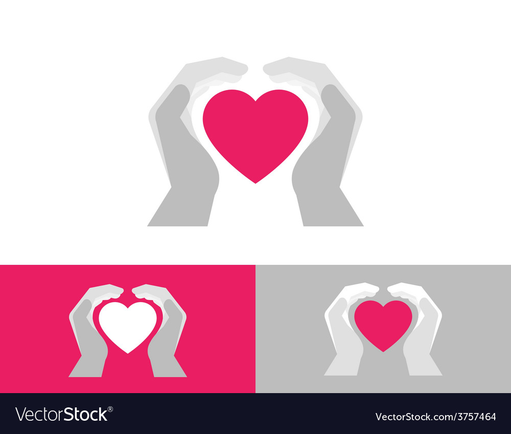 Heart care vector | Price: 1 Credit (USD $1)