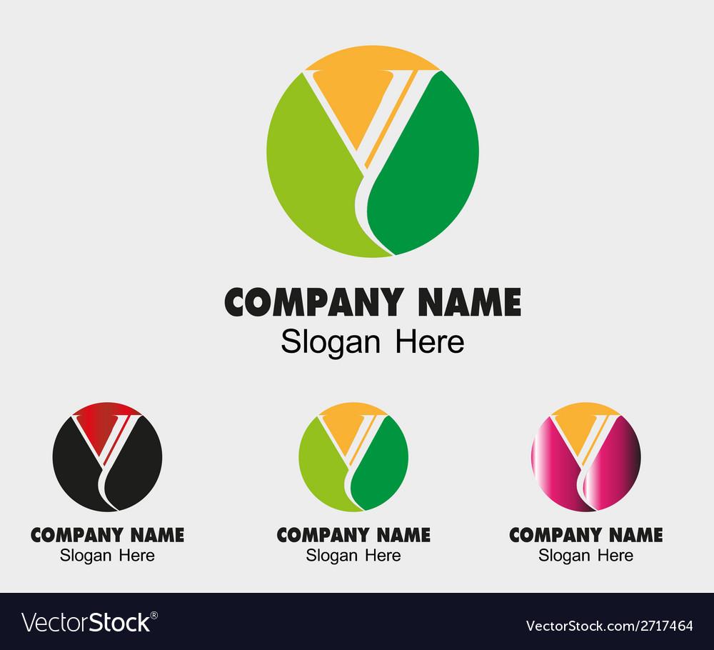Letter y alphabet logo letter y icon vector | Price: 1 Credit (USD $1)