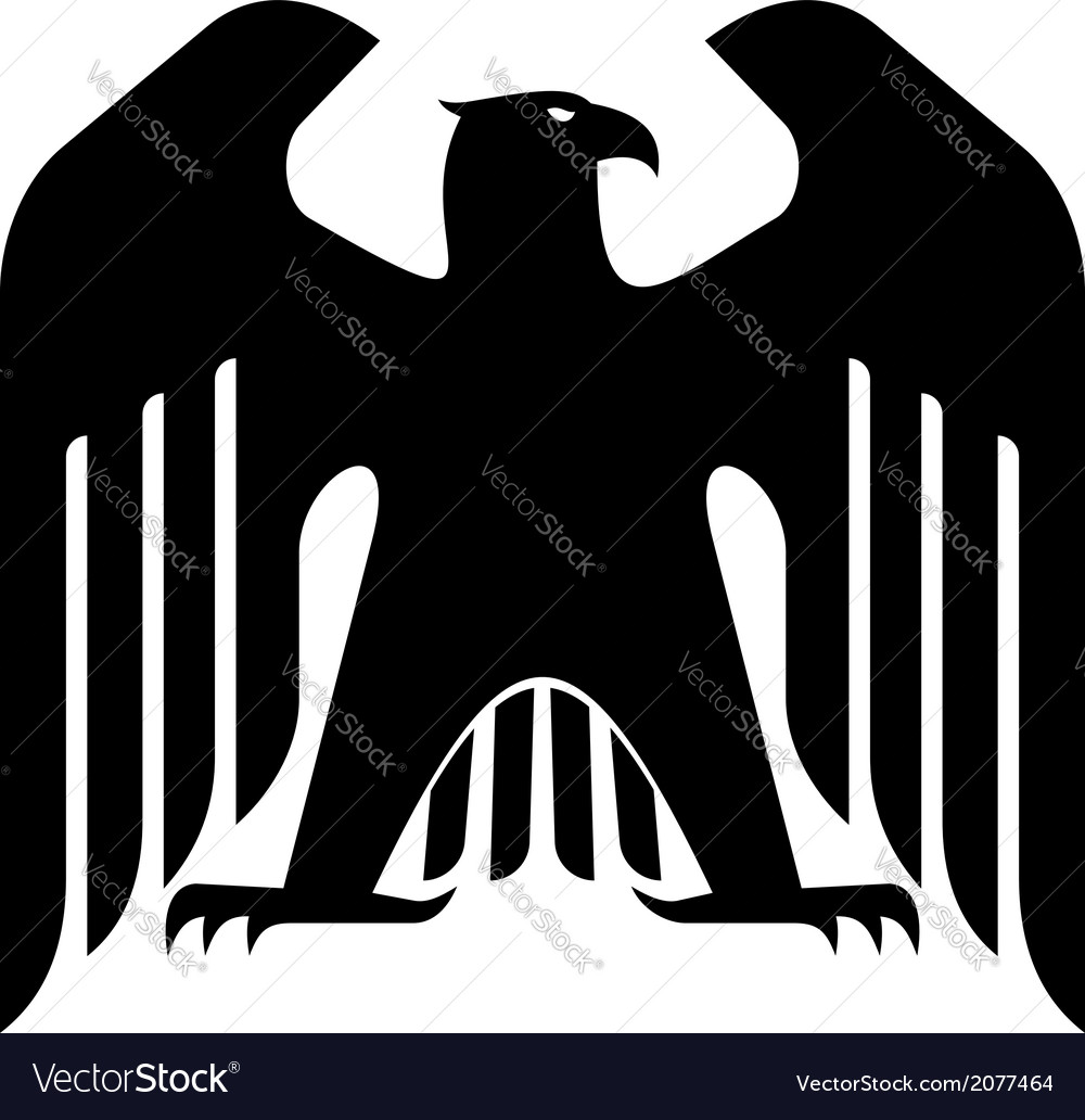 Majestic black eagle vector | Price: 1 Credit (USD $1)