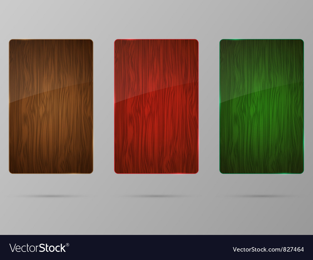 Wood framework set vector | Price: 1 Credit (USD $1)