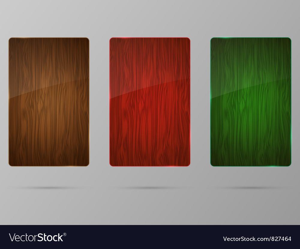 Wood framework set vector | Price: 1 Credit (USD $1)