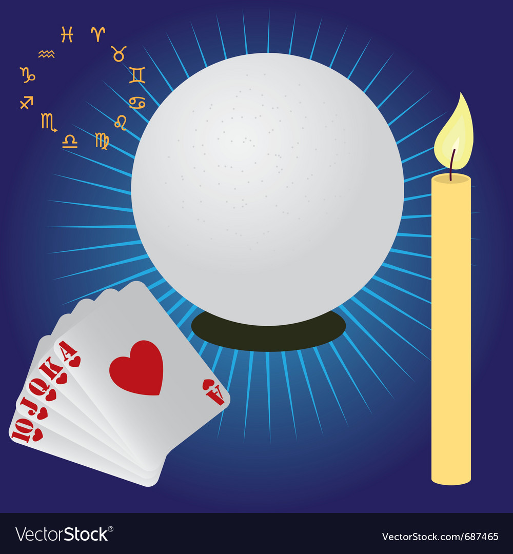 Fortune telling vector | Price: 1 Credit (USD $1)