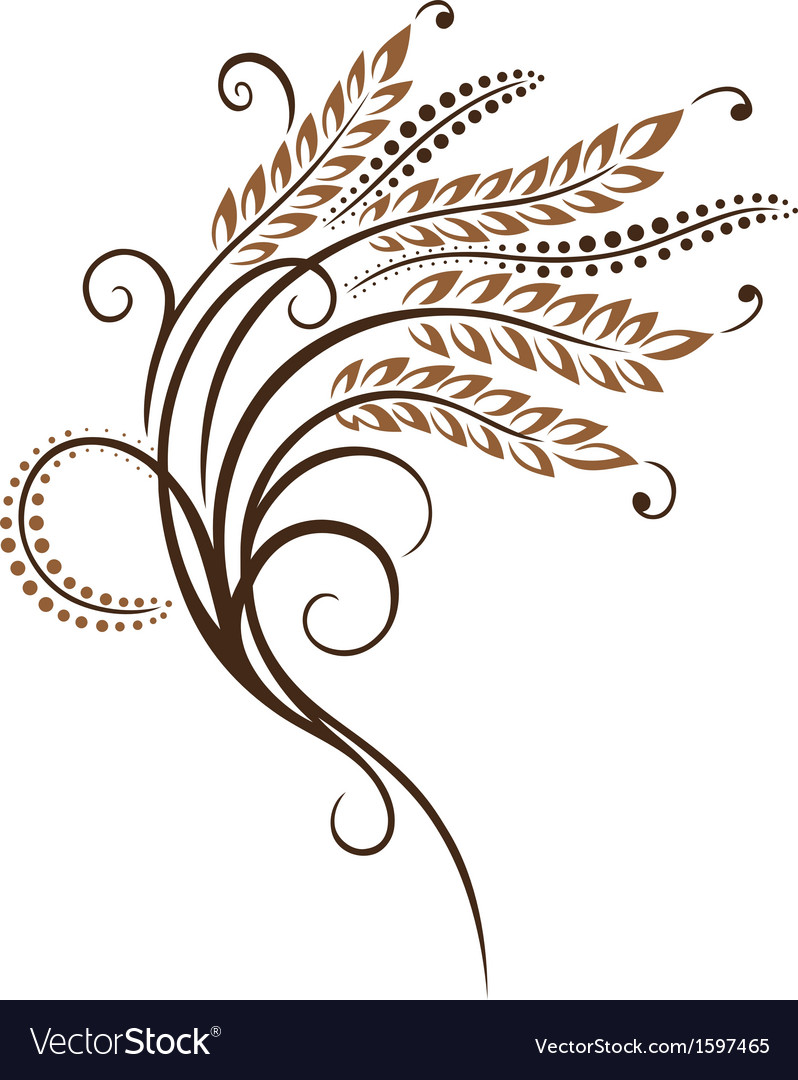 Grain corn bakery vector | Price: 1 Credit (USD $1)
