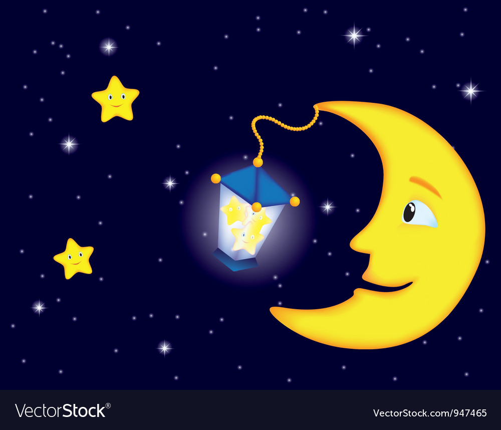 Moon flash land vector | Price: 1 Credit (USD $1)