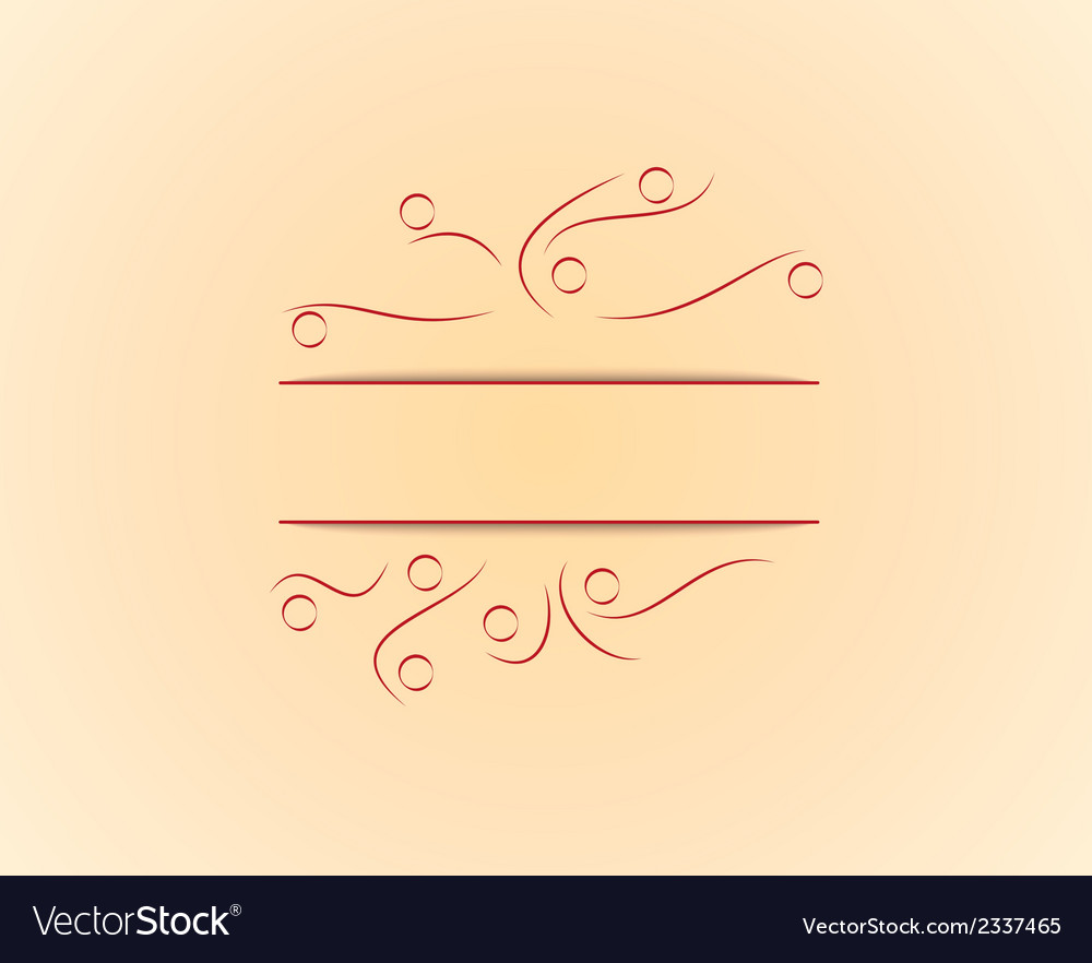 Yellow background with lines vector | Price: 1 Credit (USD $1)