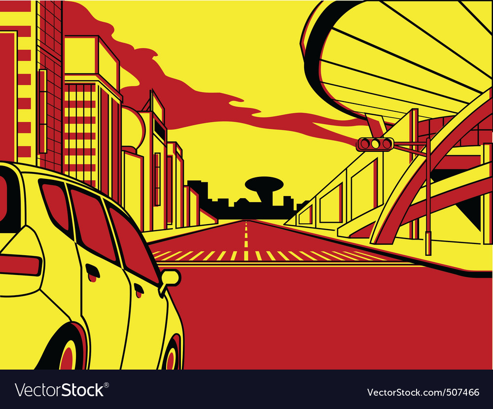 Future crossroad vector | Price: 1 Credit (USD $1)