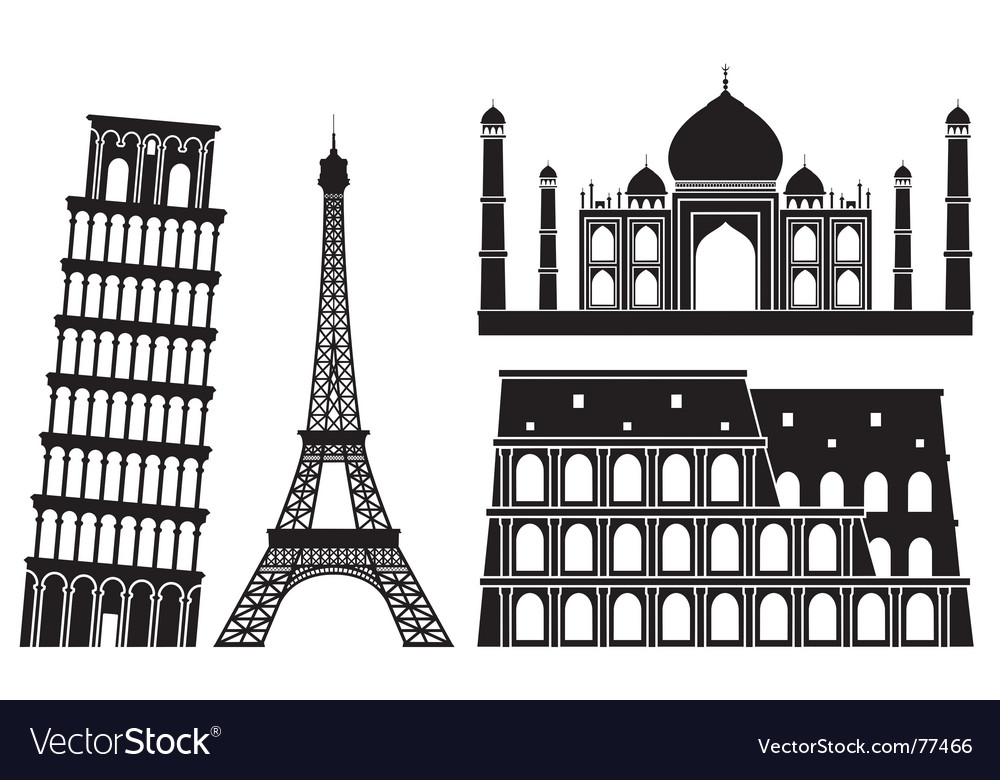 Landmarks vector | Price: 1 Credit (USD $1)
