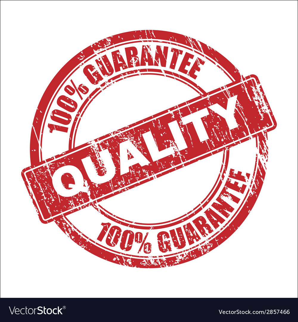 Quality stamp vector | Price: 1 Credit (USD $1)