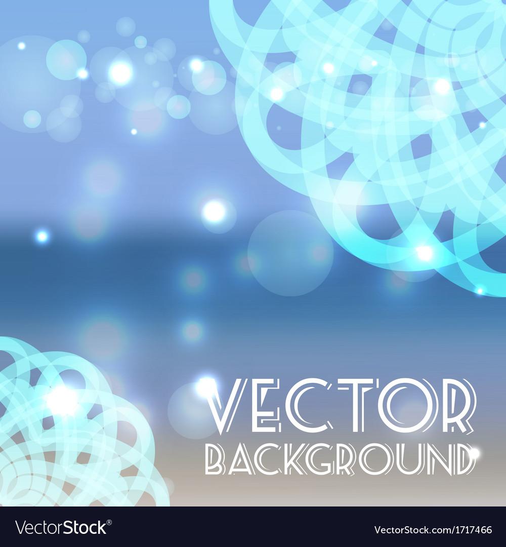 Summer sea background vector | Price: 1 Credit (USD $1)