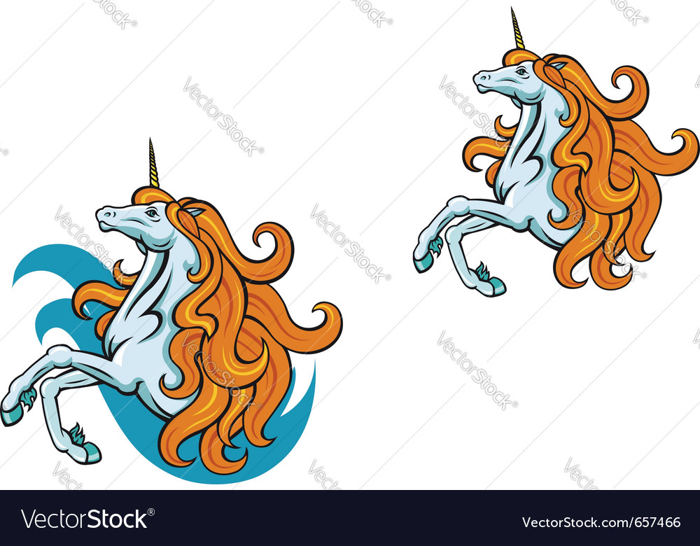 Unicorn horse vector | Price: 1 Credit (USD $1)