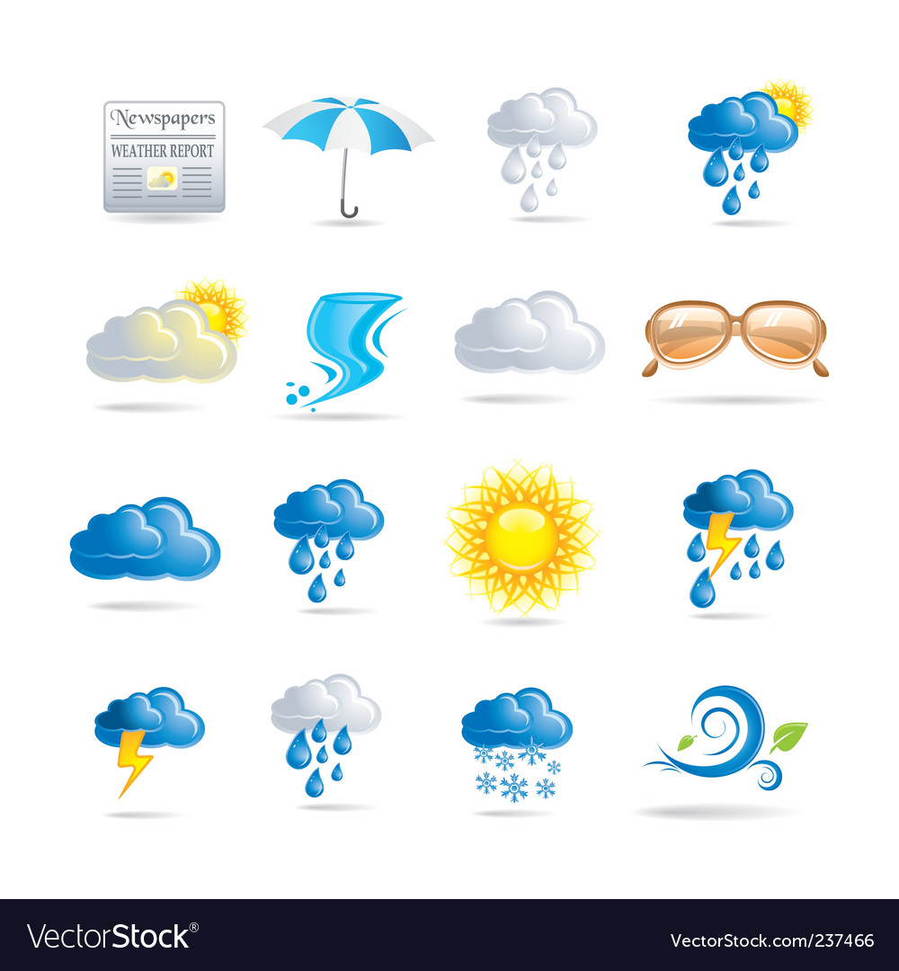 Weather vector | Price: 3 Credit (USD $3)
