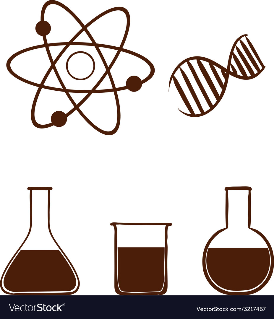 A simple science experiment vector | Price: 1 Credit (USD $1)