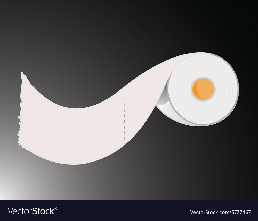Toilet paper roll vector | Price: 1 Credit (USD $1)
