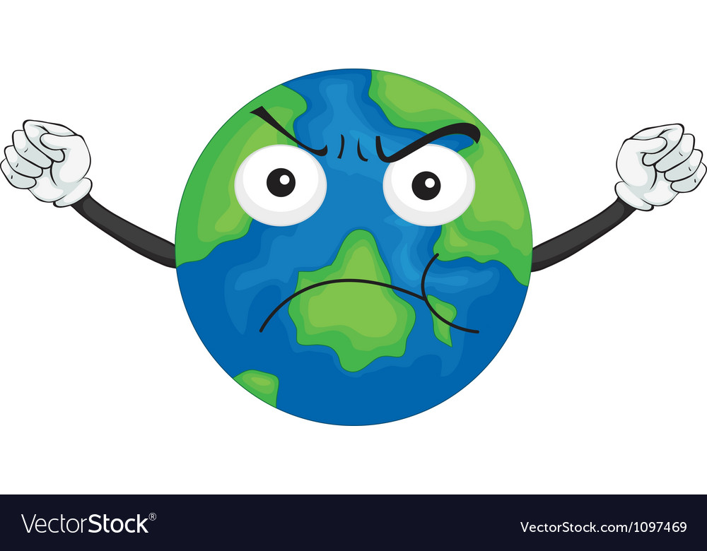 An earth planet vector | Price: 1 Credit (USD $1)