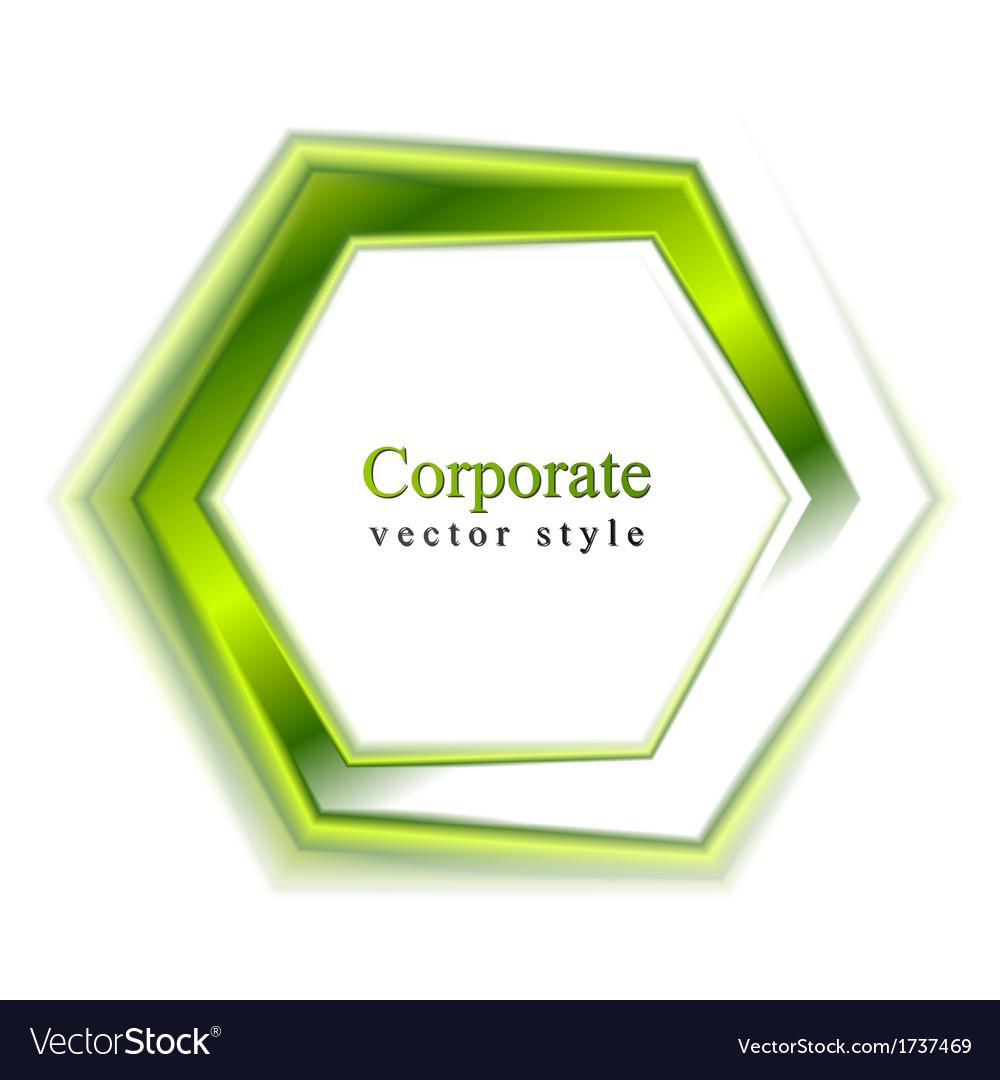 Bright green tech logo vector | Price: 1 Credit (USD $1)
