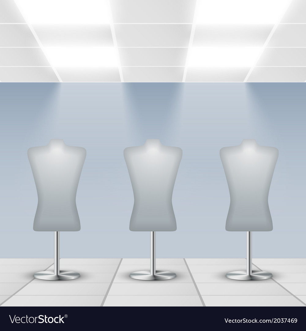 Department store interior detail vector | Price: 1 Credit (USD $1)