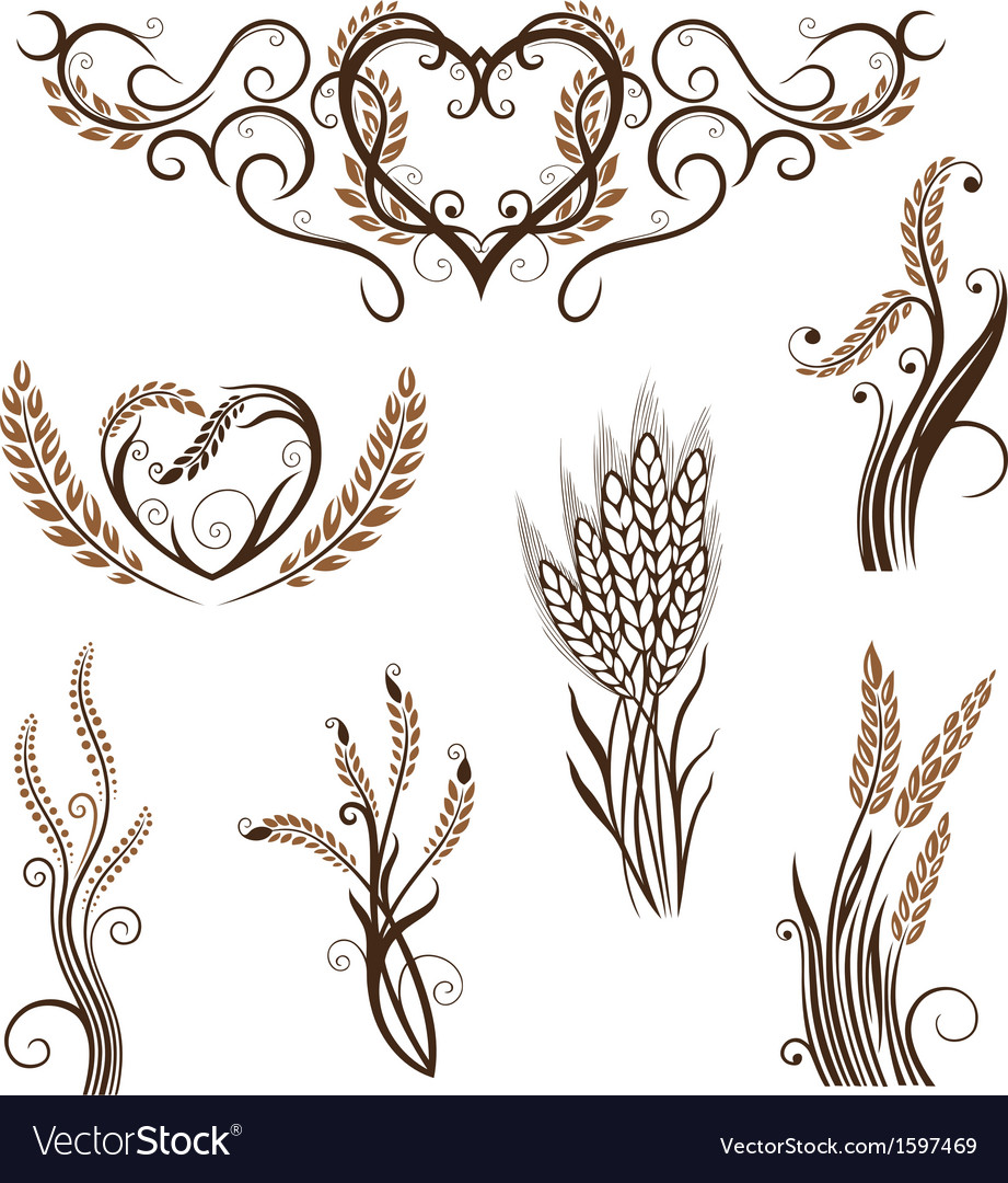Grain bread bakery vector | Price: 1 Credit (USD $1)