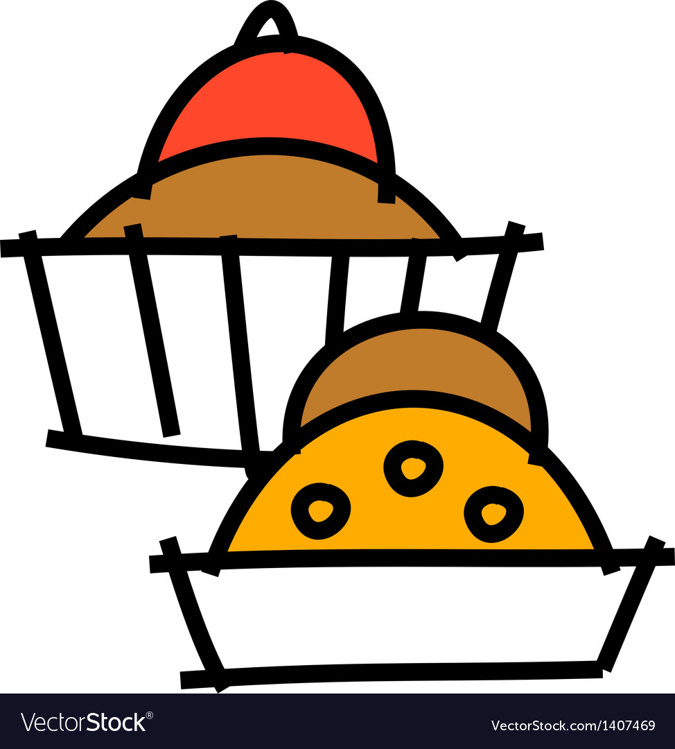 Icon muffin vector   Price: 1 Credit (USD $1)
