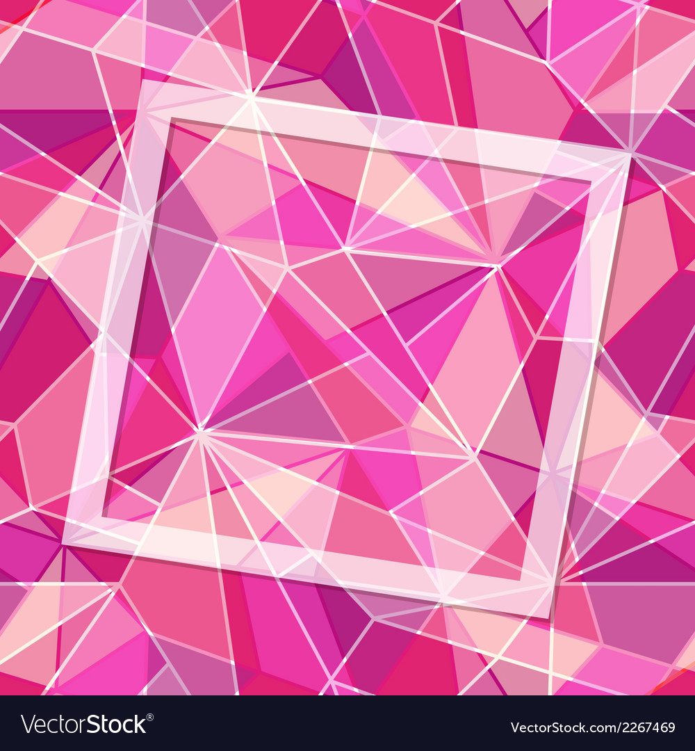Mosaic frame vector | Price: 1 Credit (USD $1)