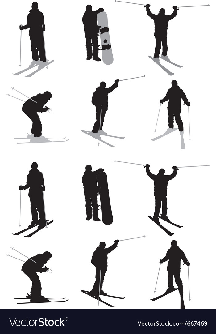 Snow sport vector | Price: 1 Credit (USD $1)