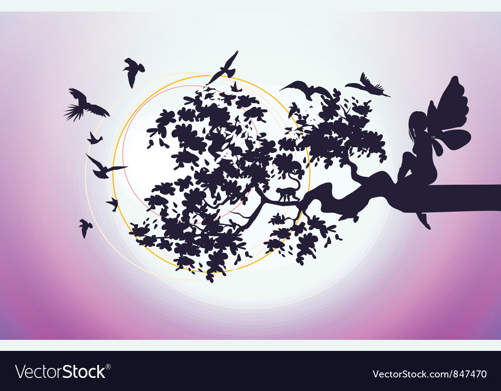 Fantasy fairy vector | Price: 1 Credit (USD $1)