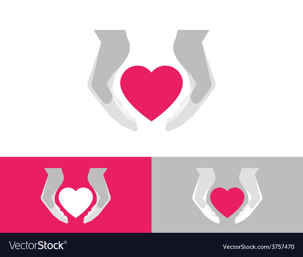 Heart care vector | Price: 1 Credit (USD $1)