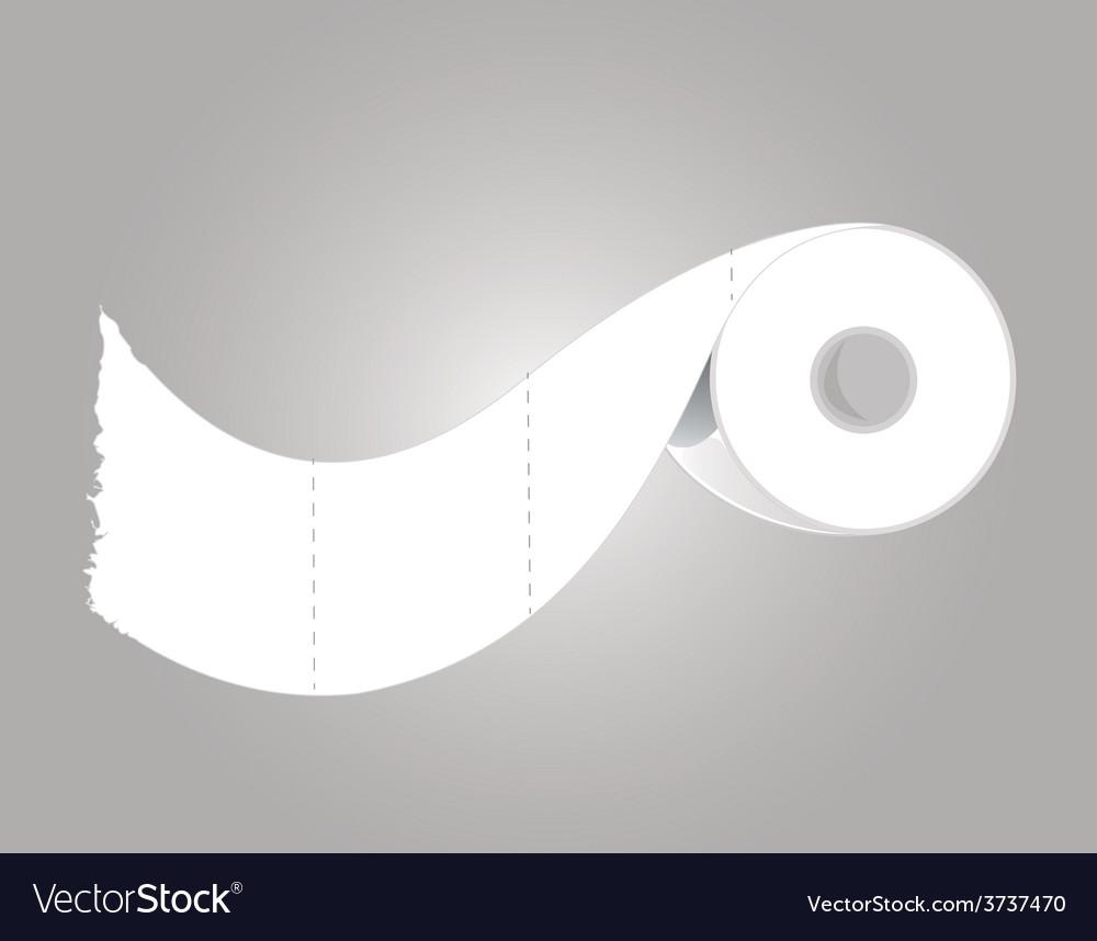 Toilet paper vector | Price: 1 Credit (USD $1)