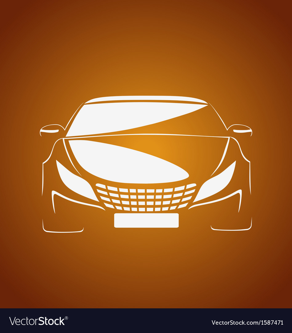 Auto in caramel vector | Price: 1 Credit (USD $1)
