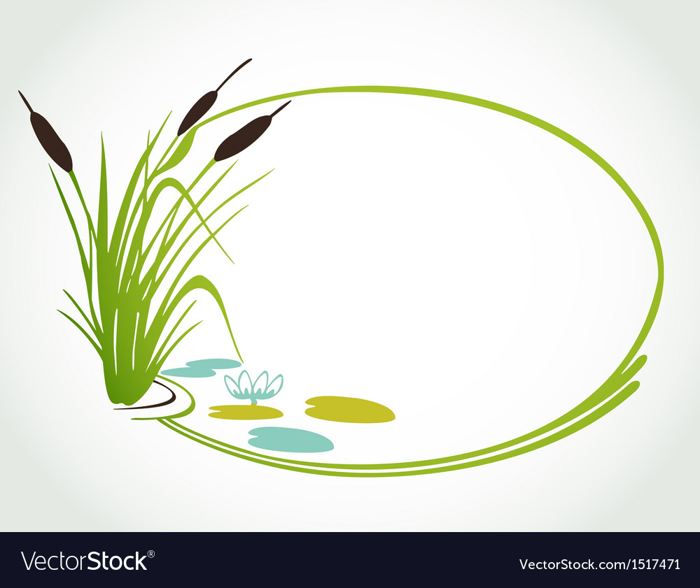 Background with cane ilustration vector