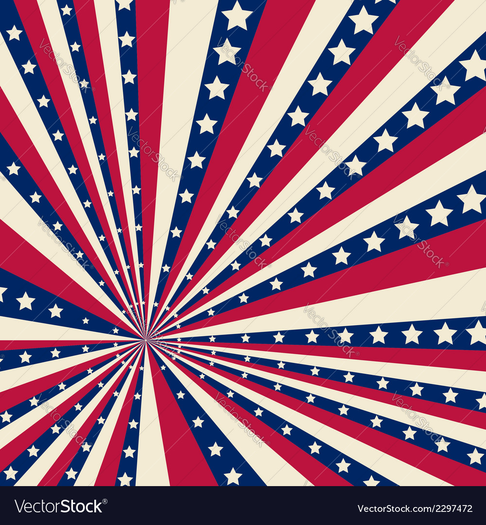 American striped background vector | Price: 1 Credit (USD $1)