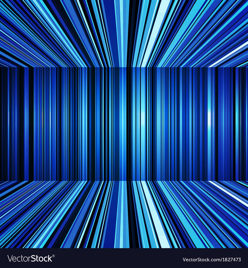 Abstract blue warped stripes background vector | Price: 1 Credit (USD $1)