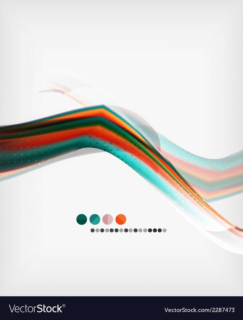 Abstract blurred waves in the air vector   Price: 1 Credit (USD $1)