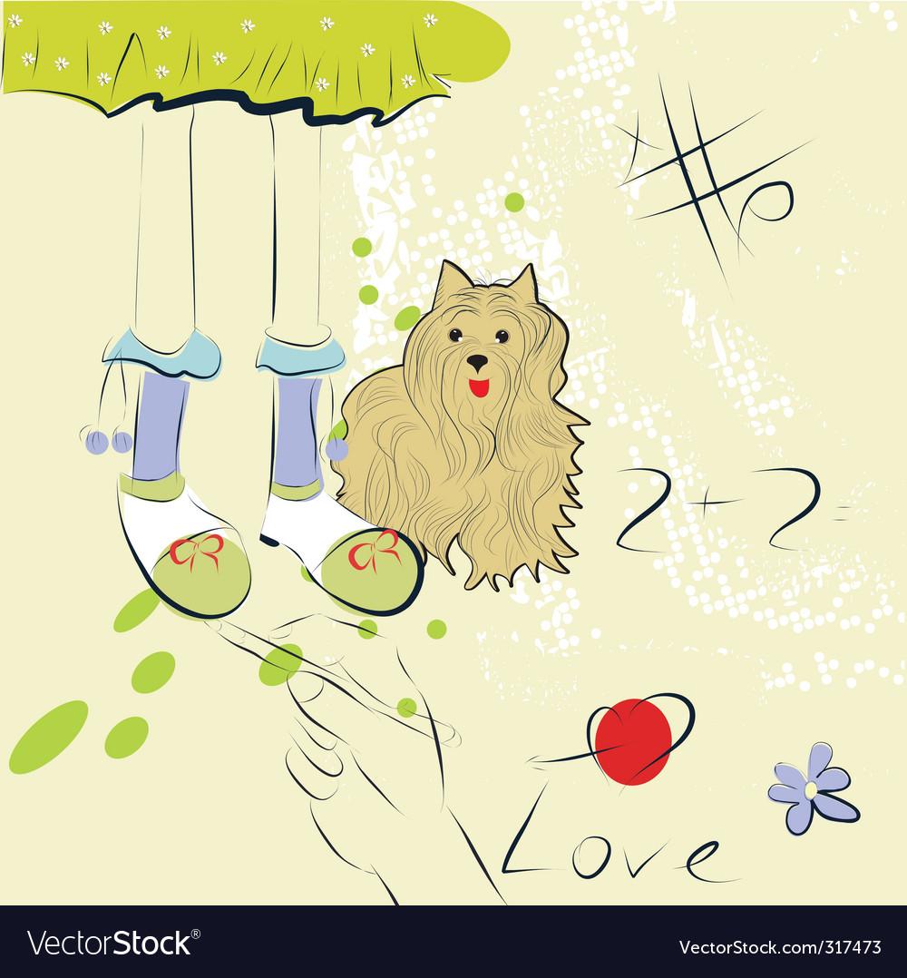 Artistic sketch vector | Price: 1 Credit (USD $1)